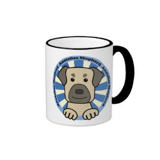 Anatolian Shepherd Ringer Coffee Mug