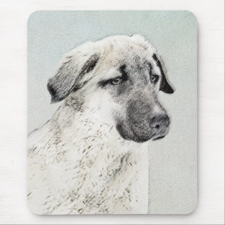 Anatolian Shepherd Painting - Original Dog Art Mouse Pad