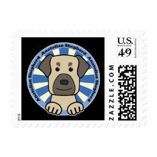 Anatolian Shepherd Postage Stamp