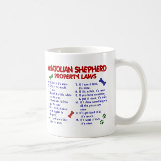 ANATOLIAN SHEPHERD Property Laws 2 Coffee Mug