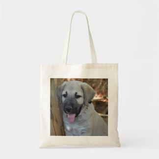 Anatolian Shepherd Puppy Tote Bag