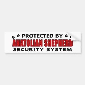 Anatolian Shepherd Security Bumper Sticker