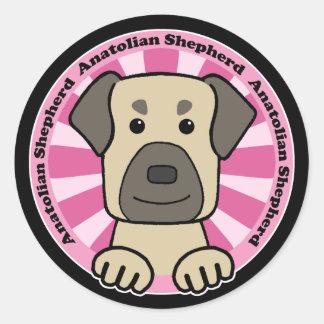Anatolian Shepherd Classic Round Sticker