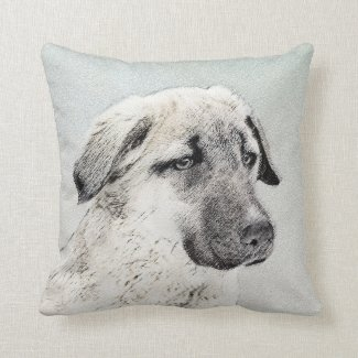 Anatolian Shepherd Throw Pillow