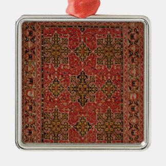 Anatolian Star Ushak carpet, 1585 Metal Ornament