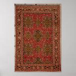Anatolian Star Ushak carpet, 1585 Poster