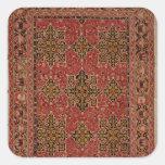 Anatolian Star Ushak carpet, 1585 Square Sticker
