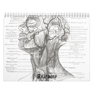 Anatomía de OldSchool Calendario De Pared