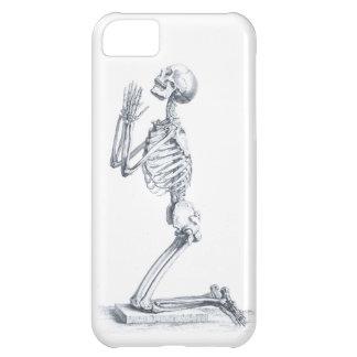 Anatomía del caso del iphone 5 de los huesos apena