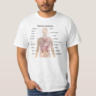 Anatomía humana camisas