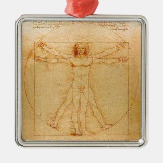 Anatomía humana, hombre de Vitruvian de Leonardo Ornamente De Reyes