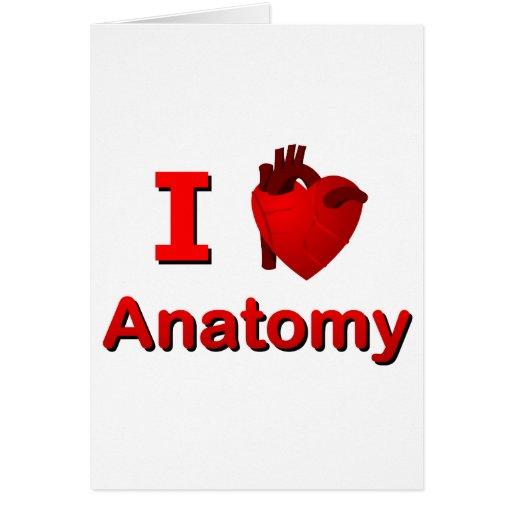 Anatomía I <3 Tarjeta De Felicitación