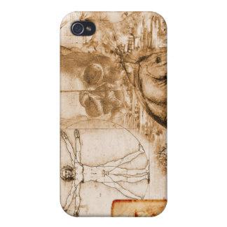 anatomia_leonardo_da_vinci iPhone 4 carcasas