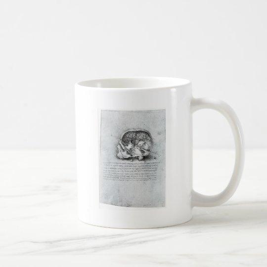 Anatomic Painting Of Skull Coffee Mug