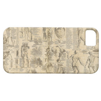 Anatomical Chart from Cyclopaedia 1728 iPhone SE/5/5s Case