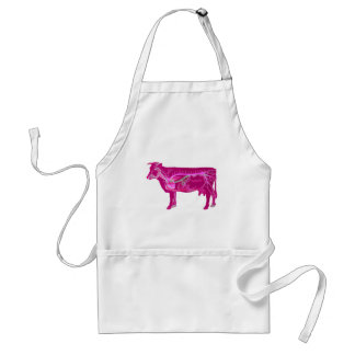 Anatomical Cute Cow Aprons