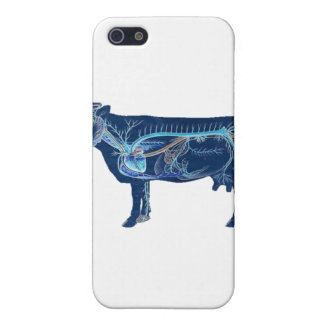 Anatomical Cute Cow Case For iPhone SE/5/5s