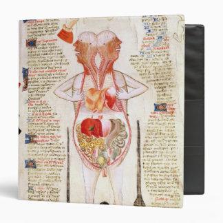 Anatomical diagram binder