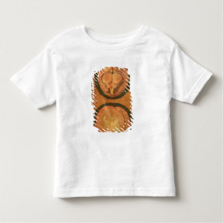 Anatomical drawing of the human brain toddler t-shirt