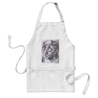 Anatomical Face with Musculature Adult Apron
