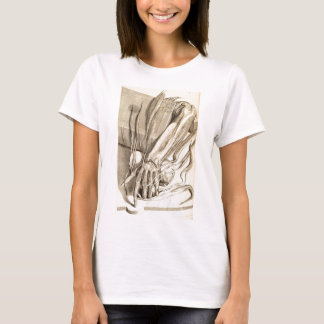 Anatomical Hand Sketch T-Shirt
