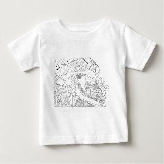 anatomical head close up baby T-Shirt