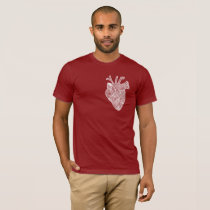 Anatomical Heart Doodle Adult Shirt