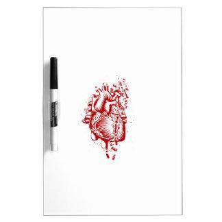 Anatomical Heart Dry-Erase Whiteboard