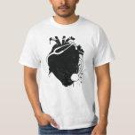anatomical heart stethoscope T-Shirt