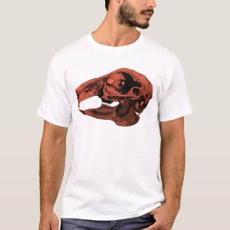 Anatomical Rabbit Skull Orange T-Shirt