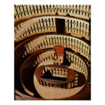 Anatomical theatre, built 1594-95 poster