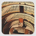 Anatomical theatre, built 1594-95 square sticker