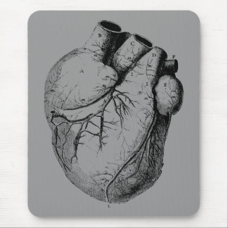 Anatomically Correct Heart Mouse Pad