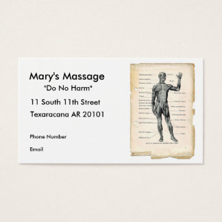 Anatomy Anterior Business Card