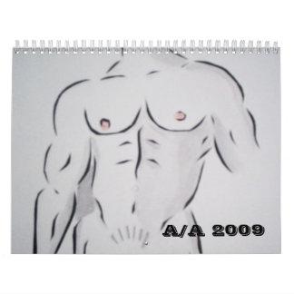 anatomy art 08 020, A/A 2010 Calendar
