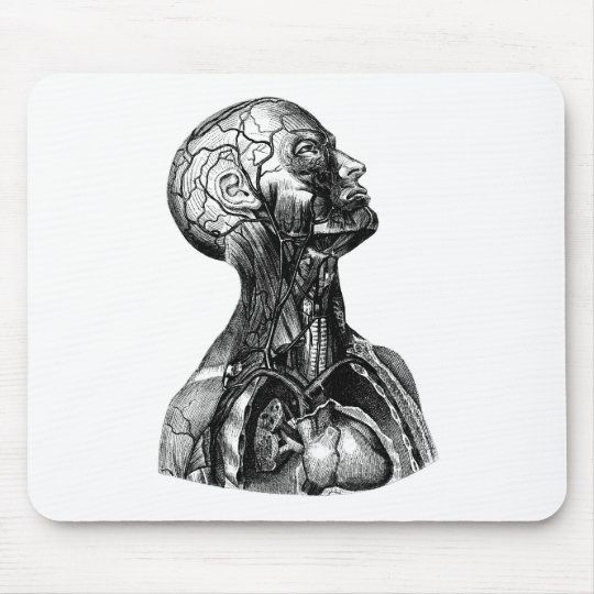 Anatomy Bust Mouse Pad