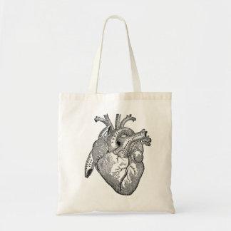Anatomy Heart Budget Tote Bag
