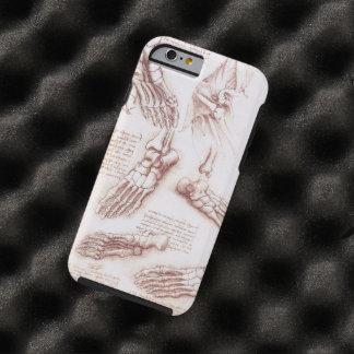 Anatomy Human Foot Skeleton Bones da Vinci Tough iPhone 6 Case