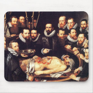 Anatomy Lesson of Dr. Willem van der Meer Mouse Pad