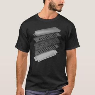 Anatomy Of A Blues Harp T-Shirt