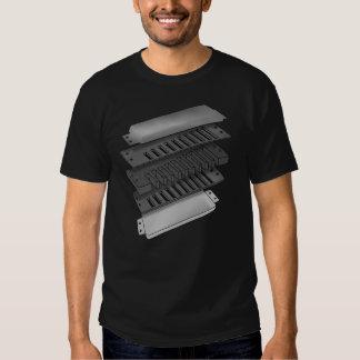Anatomy Of A Blues Harp Tee Shirt