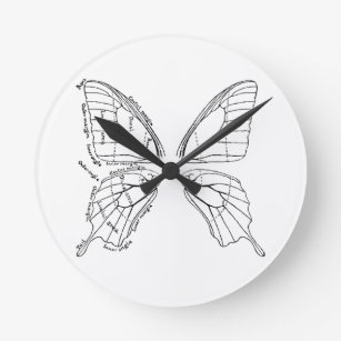 Butterfly Diagram Home Decor & Pets Products | Zazzle