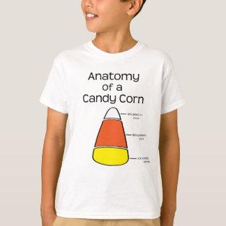 Anatomy of a Candy Corn T-Shirt