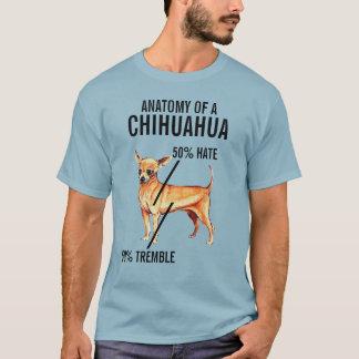 Anatomy of a Chihuahua 50% Hate 50% Tremble Shirt
