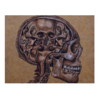 Anatomy of a Schizophrenic Postcard