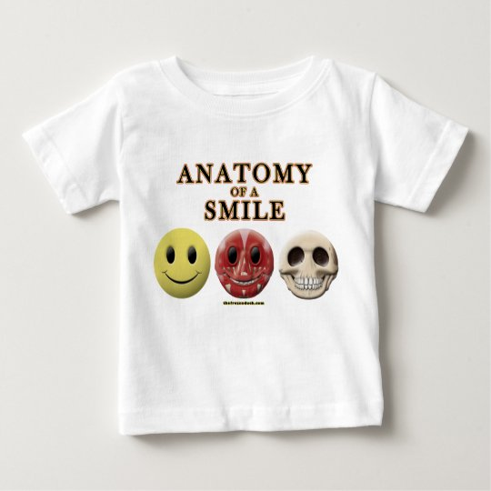 Anatomy of a Smile Baby T-Shirt
