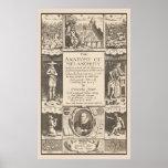 Anatomy of Melancholy 1621 Psychological Study Print