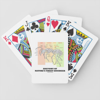 Anatomy Of Nature's Finest Engineer (Worker Ant) Bicycle Playing Cards