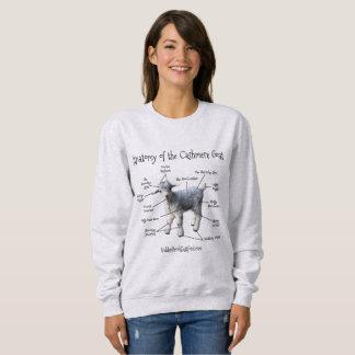 Anatomy of the Cashmere Goat - Women's Sweatshirt