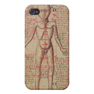 Anatomy of the human body iPhone 4/4S cases
